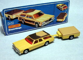 Dodge Monaco and Trailer (K-68)