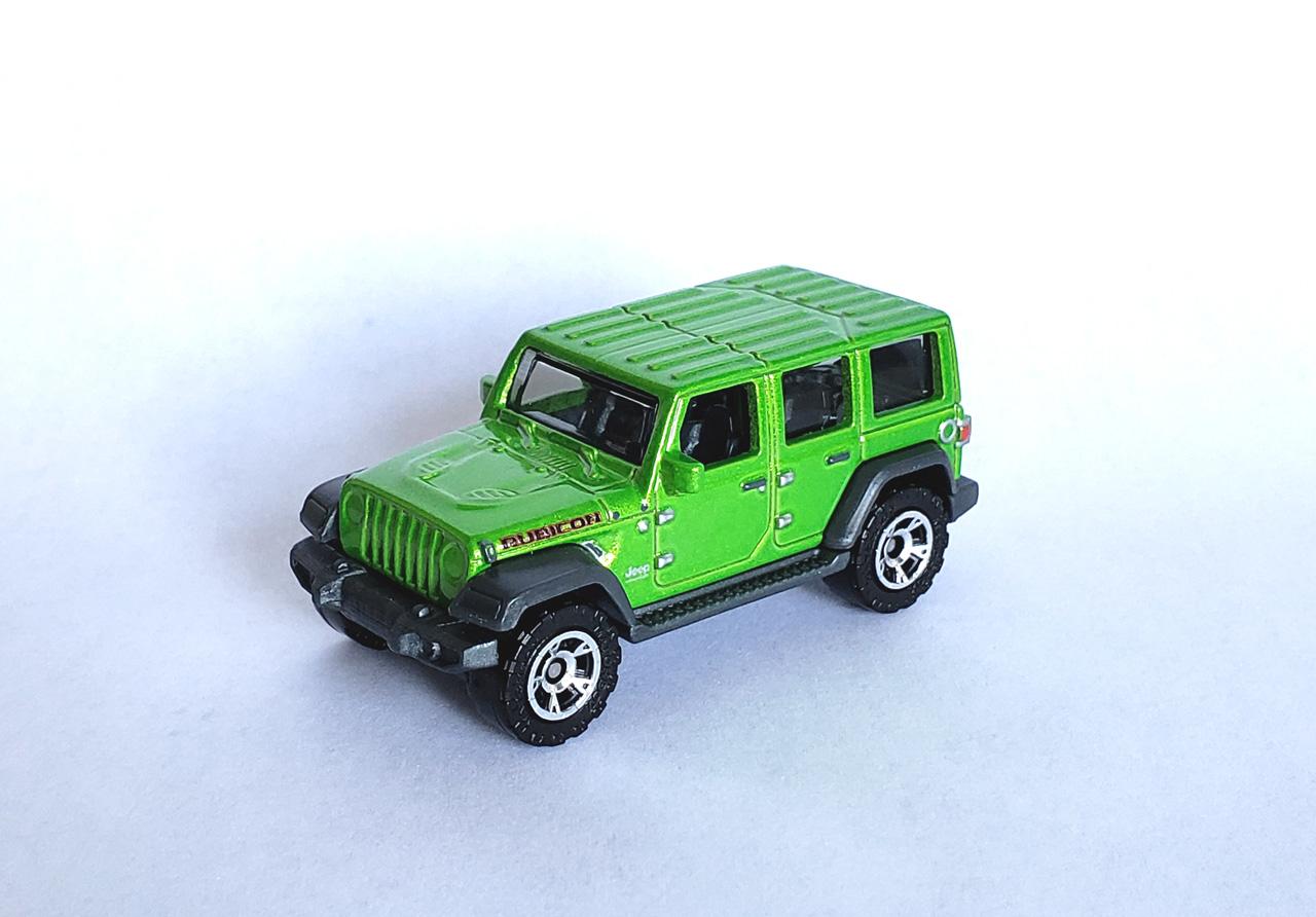 18 Jeep Wrangler Jl Unlimited Rubicon Matchbox Cars Wiki Fandom
