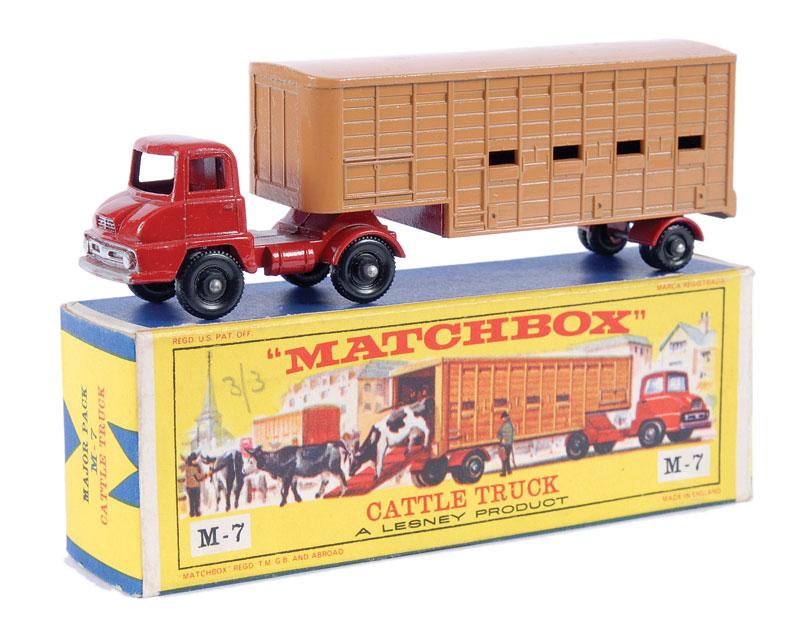 Thames Trader Jennings Cattle Truck (M-7) | Matchbox Cars Wiki ...