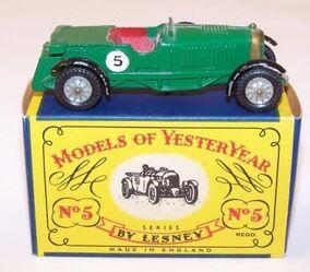 1929 Le Mans Bentley (Y-5)