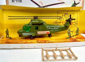 Kaman Seasprite Army Helicopter (1979-81)