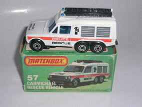 Carmichael Rescure Vehicle (1982 MB 57)