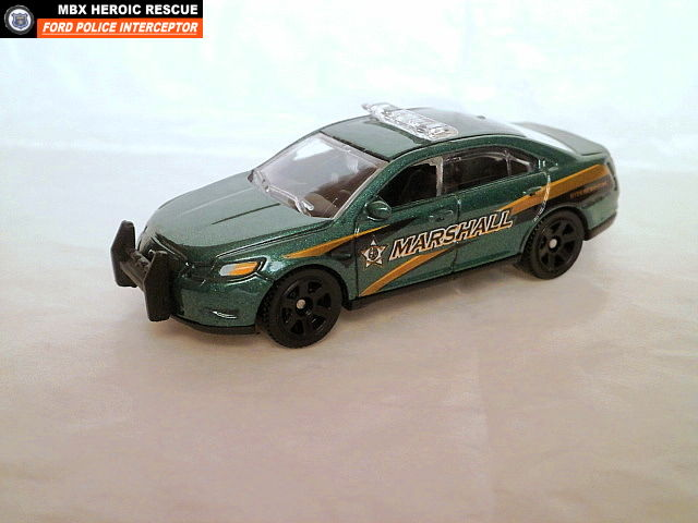 MATCHBOX 2013 FORD EXPLORER POLICE - YouTube