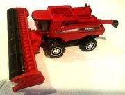 Case IH Combine Harvester (2010 Red)