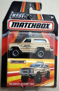 Chevy Blazer 4x4 (MBX Best of)