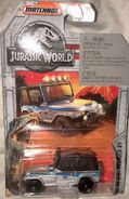 Jeep Wrangler (with soft top Silver2018 Jurassc World)