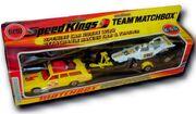 Mercury Commuter-Racing Car and Trailer (K-46 Lightning White)