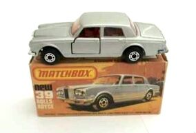Rolls-Royce Silver Shadow II (1979 Silver)