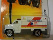 MBX Metal Ambulance white