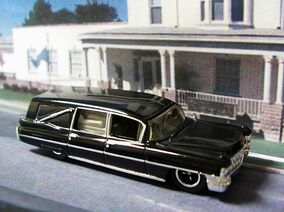63 Cadillac Hearse Black