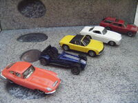 Matchbox 2011 lot of 5 cars from gift pack c