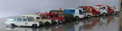 Many Matchbox Ambulances 20120615 JSCC