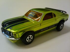 Superfast Tin 1970 Boss Mustang 302