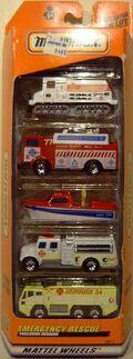 Emergency Rescue (1999 5 Pack Snow Groomer)