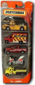 Rescue Cars (2018 5 Pack)