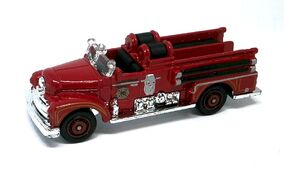 Seagrave Fire Truck (2012 1-120 Red)