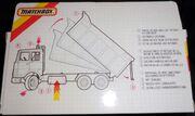 Tipper Truck IVECO (K-139 rear side Box)
