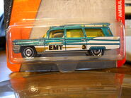 Teal Green 63 Cadillac Ambulance