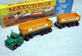 Dodge Tractor with Fruehauf Tippers (K-16 King Size)