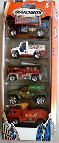 Fire Patrol (2004 5 Pack)
