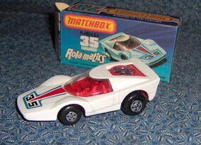 MATCHBOX ROLA-MATICS FANDANGO 1975 MB35-B WHITE ENGLAND (2)