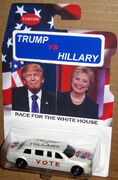 Matchbox TRUMP vs HILLARY CUSTOM 2016 Election Year Limousine