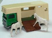 7740 Horse Box GrnWhtOpen
