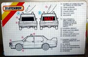 BMW Police Car (1988-91 K-142 Rear Side Box)