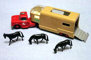 DODGE ARTICULATED HORSE VAN 2