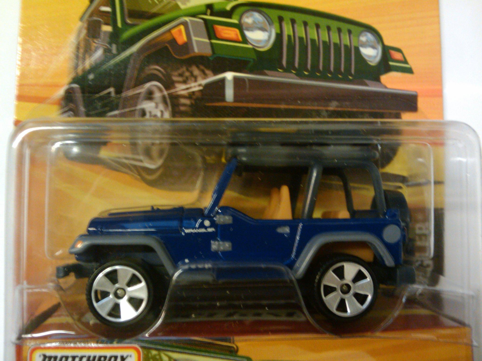 Jeep Wrangler 1998 Matchbox Cars Wiki