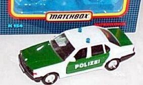 BMW 750 i Polizei Car (K-154)