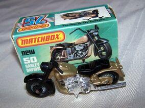 Harley Davidson Motorcycle ((1981 MB50)
