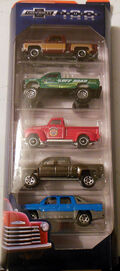 Chevy Trucks 100 Years (2018 5 Pack)