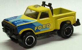 8253 Flareside Pickup Yel