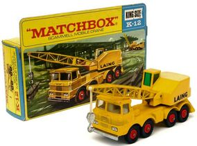 Scammell Mobile Crane (1969-70 Box)