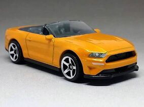 Ford Mustang Convertible (2019 NEW Casting)