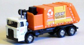 Autocar ACX Garbage Truck (2008 Real Working)