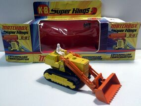 Caterpillar Traxcavator (K-8 Super Kings)