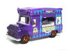 Matchbox 2013 Ice Cream Van Metallic Purple