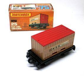 Flat Car & Container (1980-81 N.Y.K.)