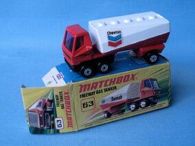 Freeway Gas Tanker (Chevron Box)