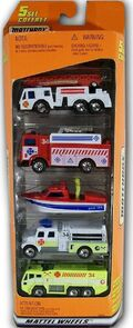 Emergency Rescue (1999 5 Pack Fire Engine)