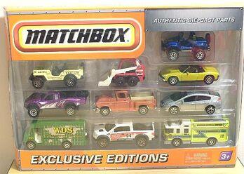 2010 Matchbox 10 Pack D R0622