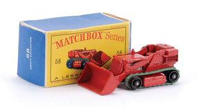 Matchbox Drott Excavator Nº 58