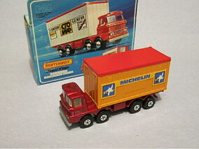 SCAMMELL CONTAINER TRUCK MICHELIN 1976-1979