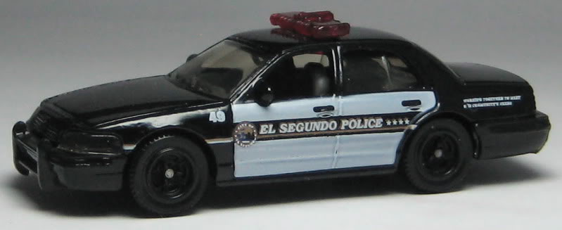 Matchbox 06 Ford Crown Victoria Police