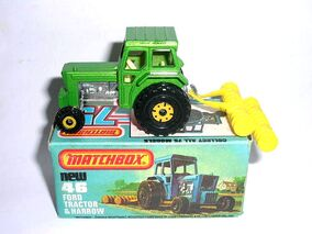 Ford Tractor a Harrow (1981 Green)