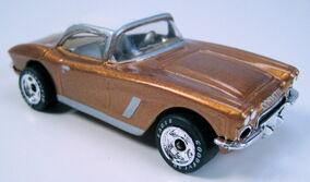 62 Corvette Coupe MB71-D33 gold premiere WC