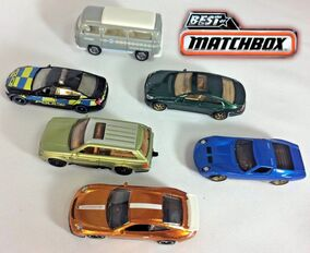 Best of Matchbox 2017 (Complet 6 models)