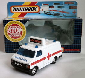Bedford Emergency Van (1987 Box)